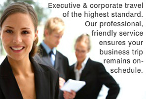 Executive and corporate travel of the highest standard. Our professional, friendly service ensures your business trip remains on-schedule.