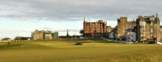St Andrews the home of golf
